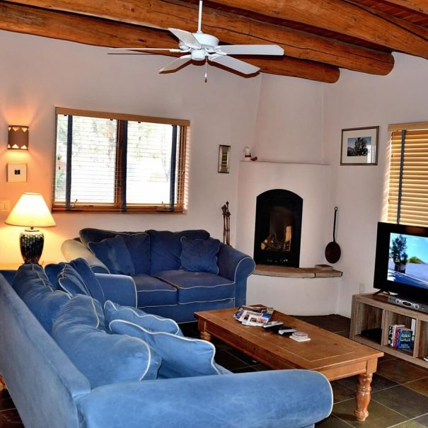 Taos Vacation Rental house lounge