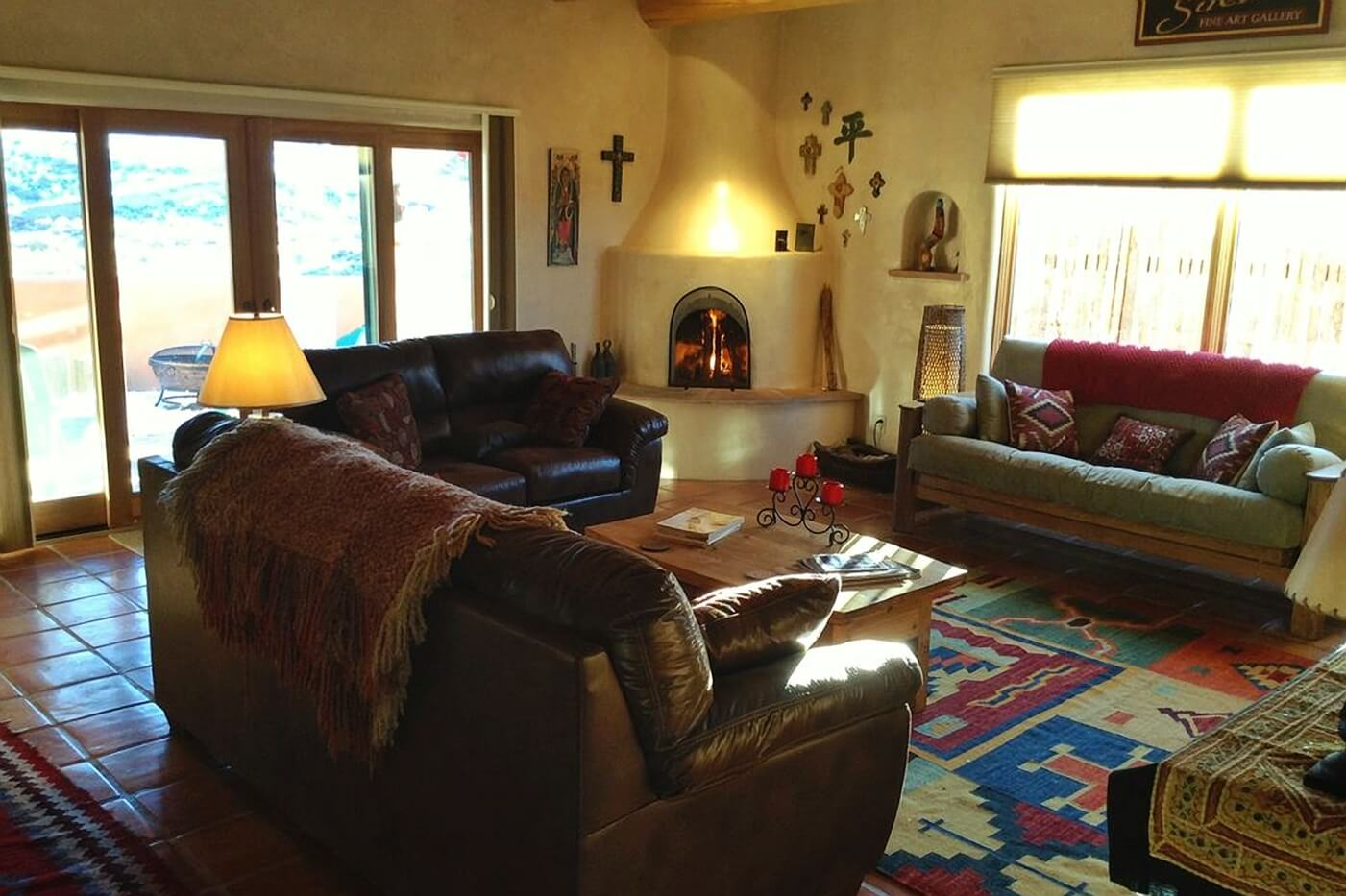Taos Vacation Rental Home lounge