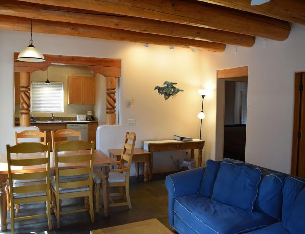 Taos Vacation Rental house living