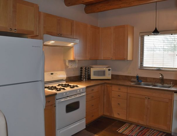 Taos Vacation Rental house kitchen