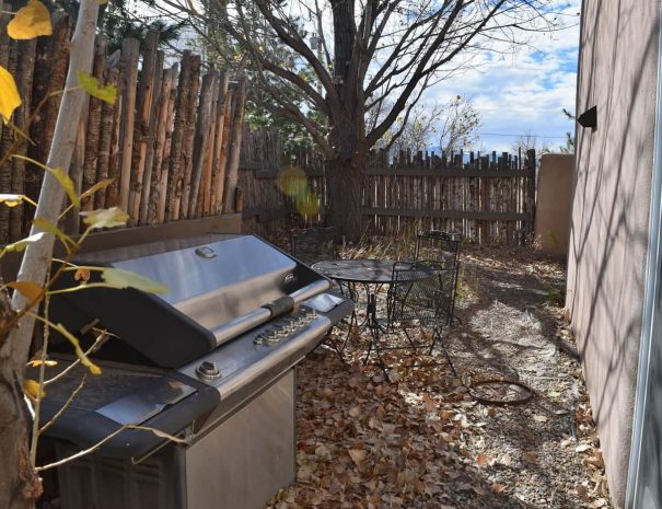 Taos Vacation Rental house grill