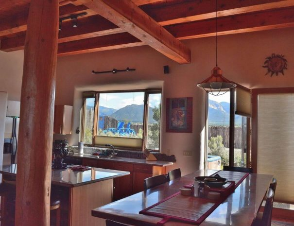 Taos Vacation rental home kitchen