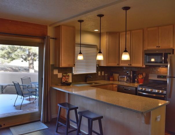 Vacation rental home with pool and tennis kitchen
