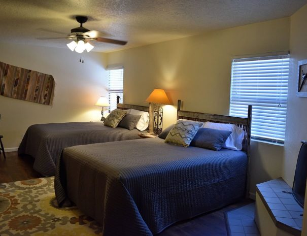 Vacation rental home with pool and tennis bedroom