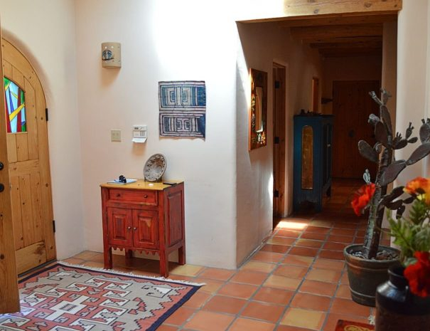 Taos Vacation Rental home foyer