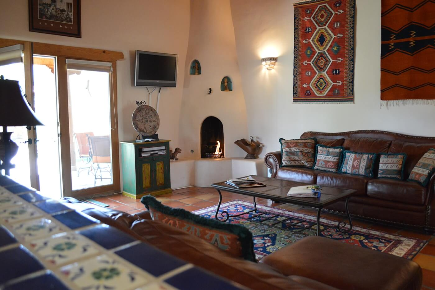Taos Vacation Rental home living