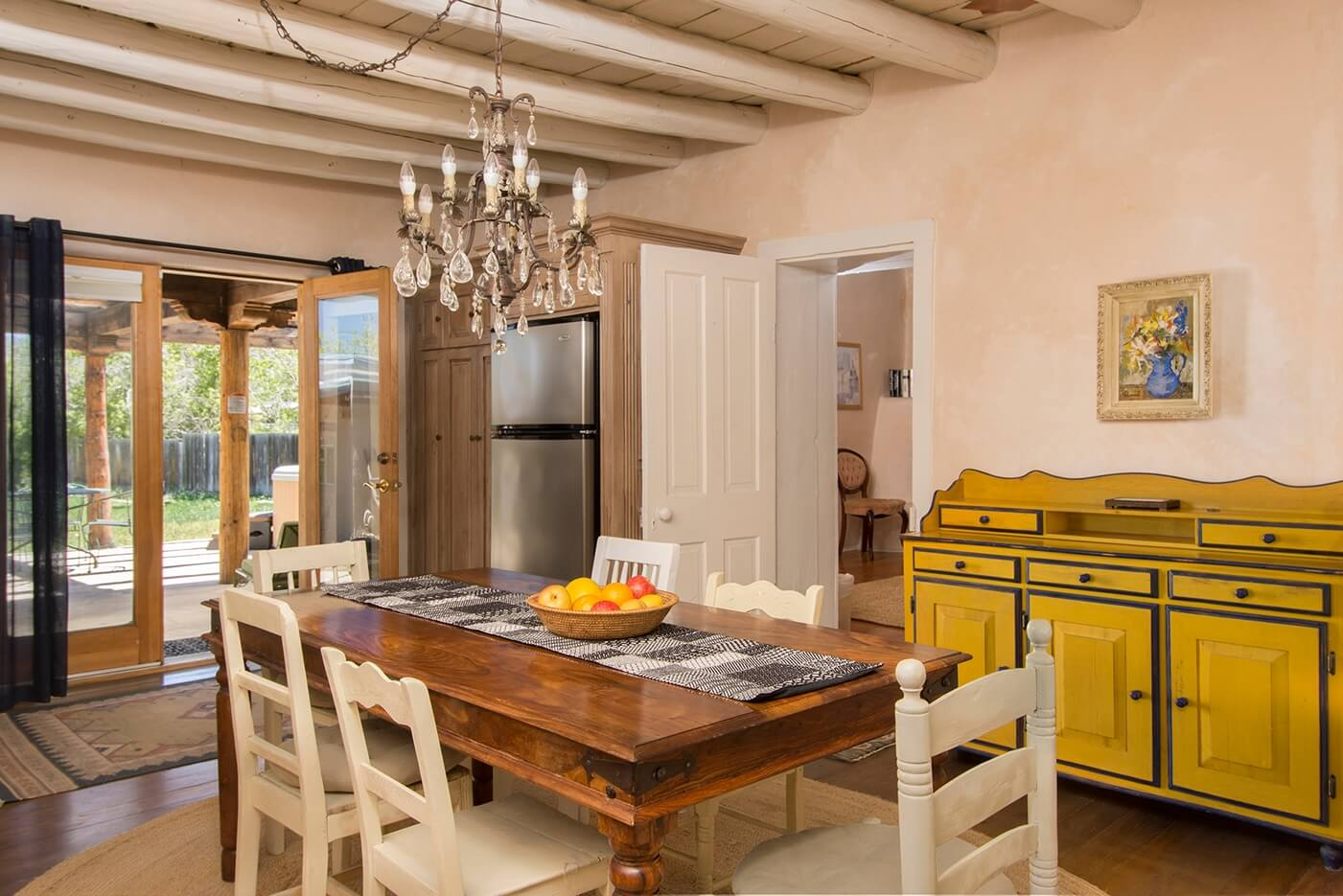 Taos Vacation Rental home dining room