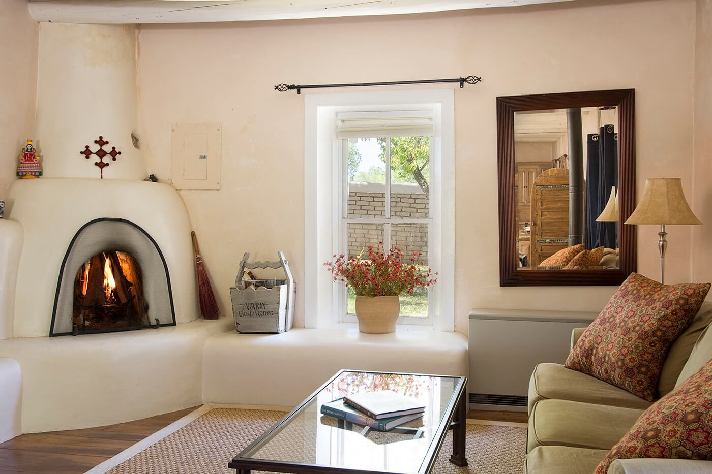 Taos Vacation Rental home layout of living areas
