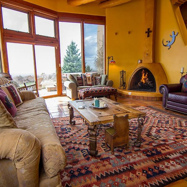 Taos Vacation Rental Home living space