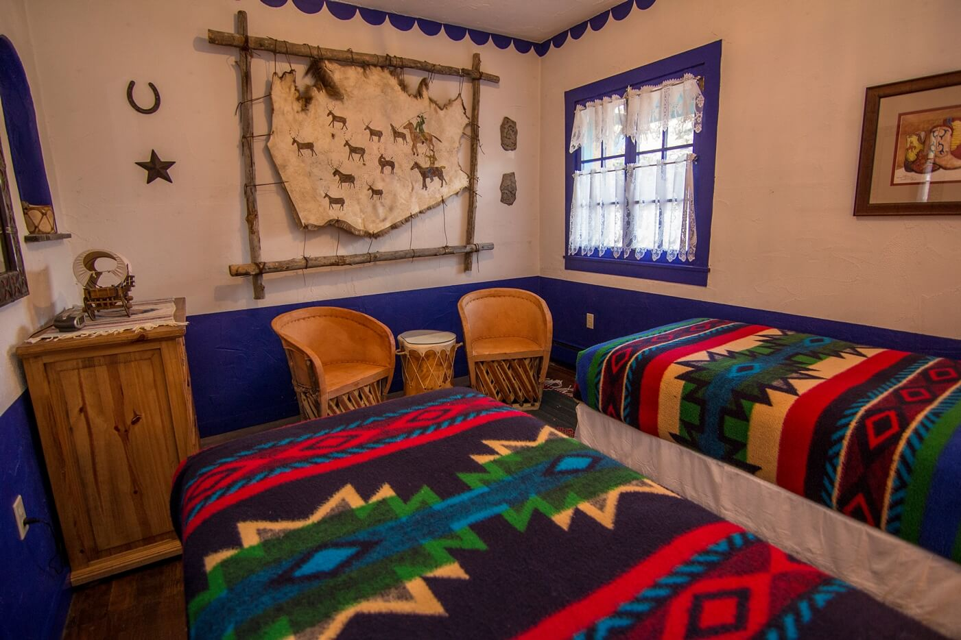 Historical Taos Vacation rental Twin room