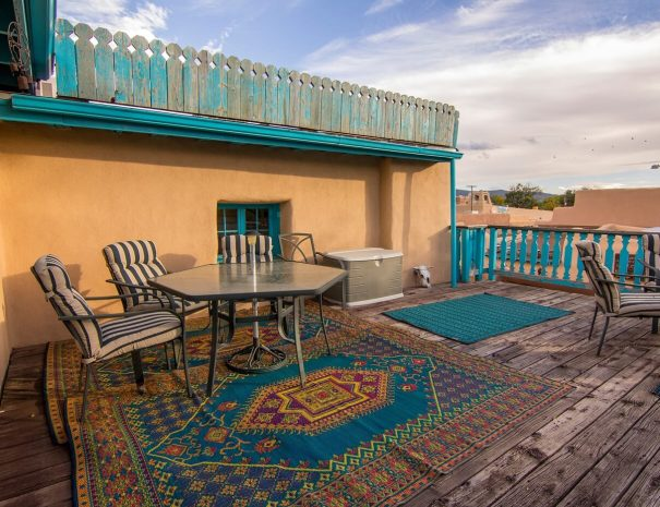Historical Taos Vacation rental outside