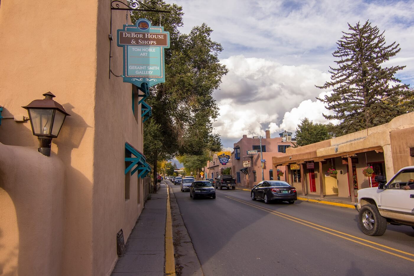 Historical Taos Vacation rental street view