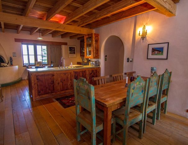 Taos Vacation Rental Home dining