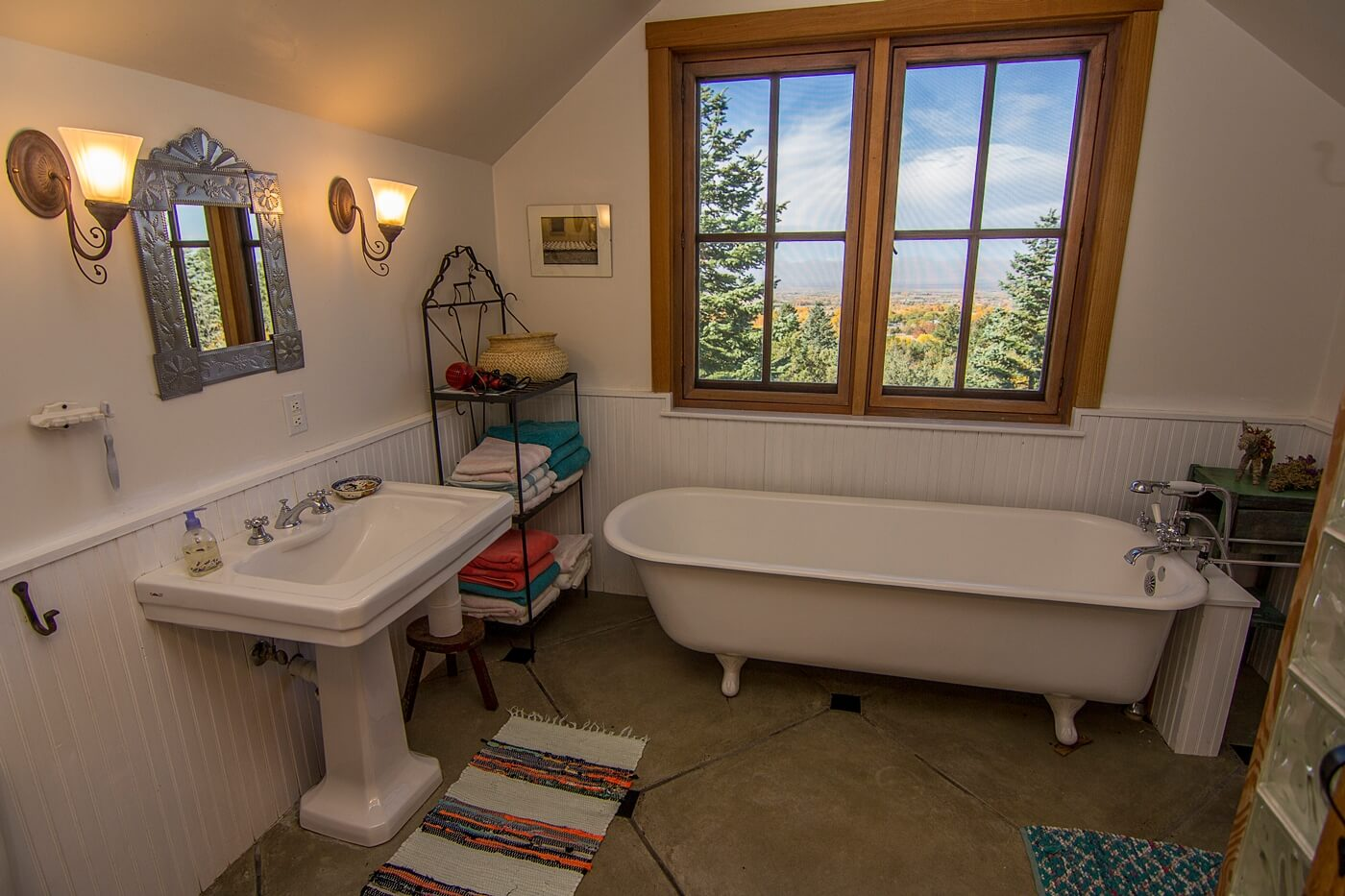 Taos Vacation Rental Home bathroom