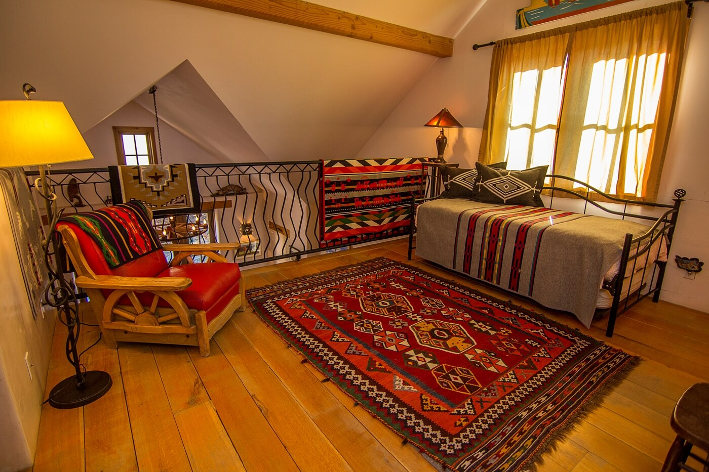 Taos Vacation Rental Home loft