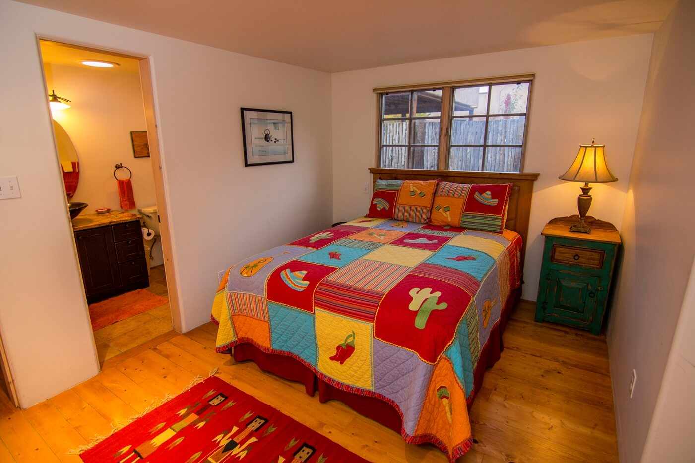 Taos Vacation Rental Home queen room