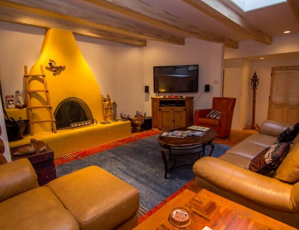 Taos Vacation Rental Home living area