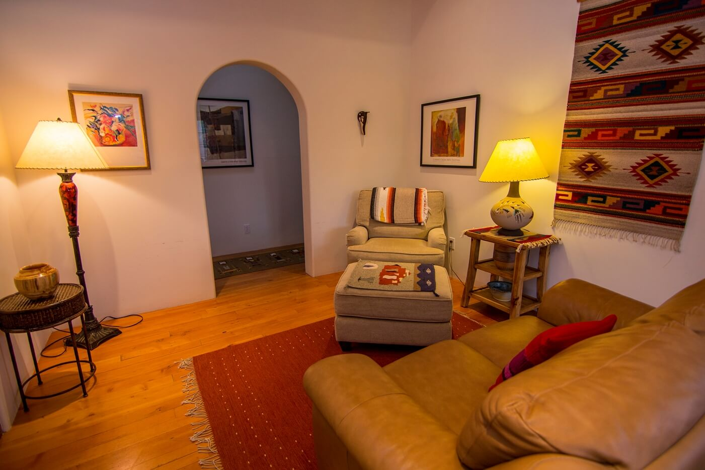 Taos Vacation Rental Home seating
