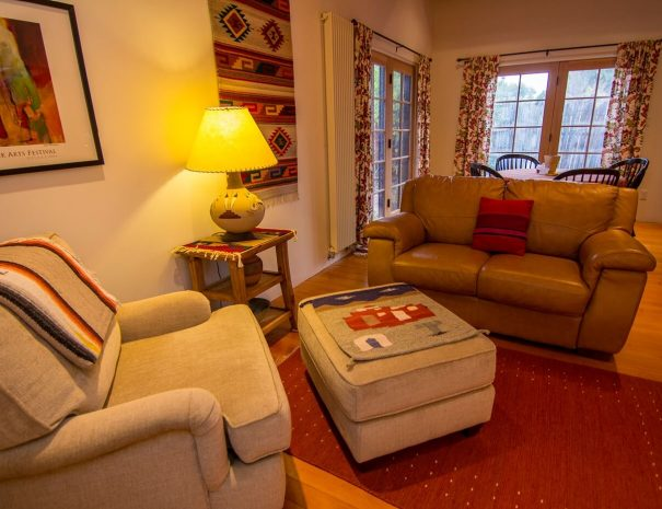 Taos Vacation Rental Home seating area