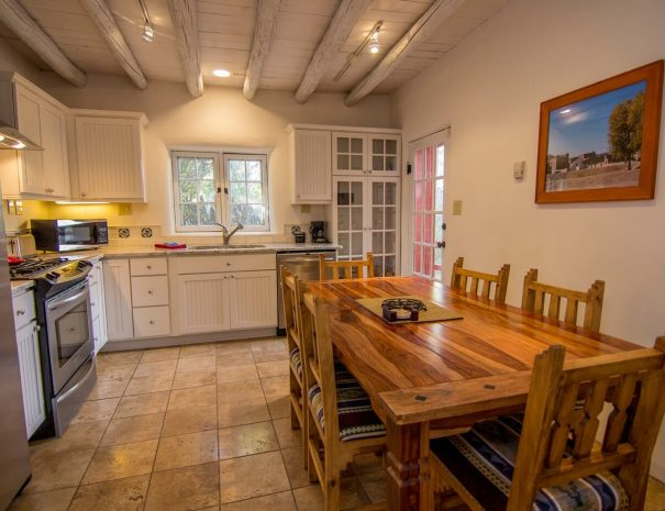 Taos Vacation Rental Home gourmet kitchen
