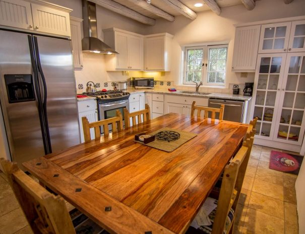 Taos Vacation Rental Home modern kitchen