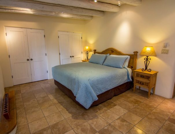Taos Vacation Rental Home king bedroom