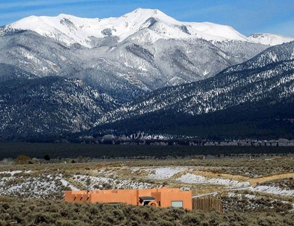 Taos Vacation Rental Home with mountain views